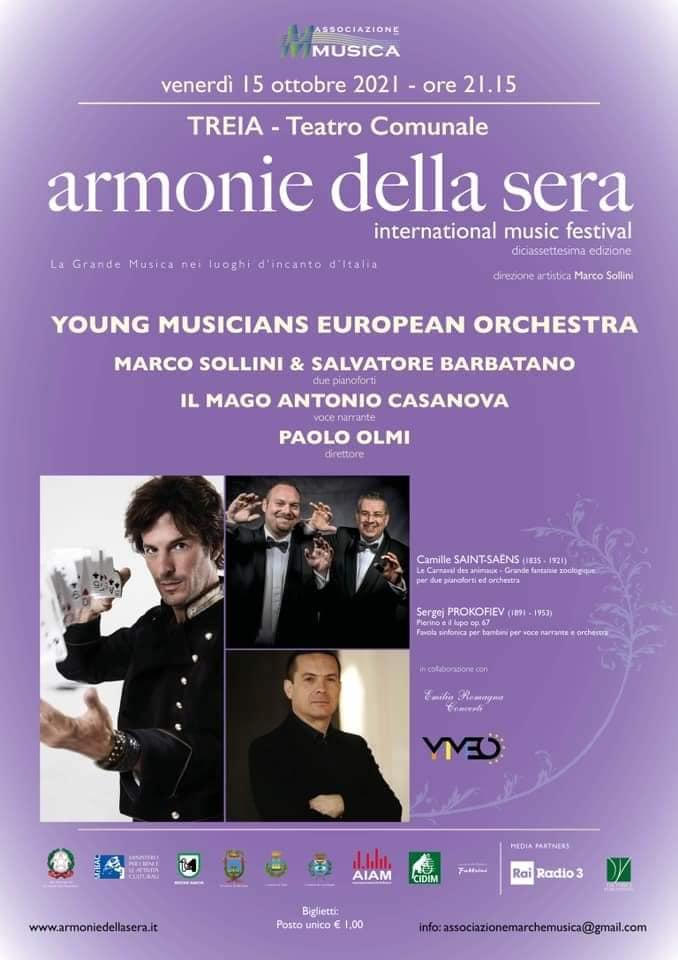 Locandina concerto 15 ottobre